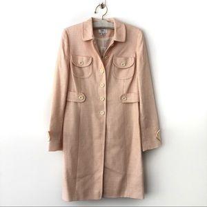 Ann Taylor LOFT Tweed Trench size 6 NWT Jacket